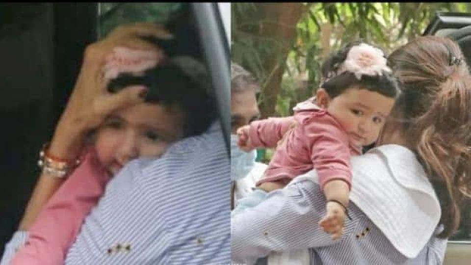 पहली बार सामने आया शिल्पा शेट्टी की बेटी का प्यारा चेहरा, हद से भी ज्यादा क्यूट है समीशा