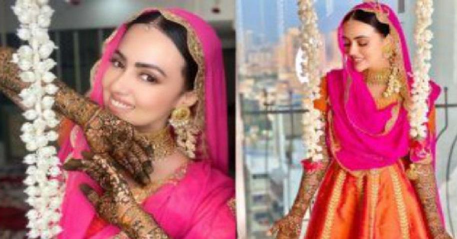 मौलवी से निकाह के 1 हफ्ते बाद ऐसी हो गयी है सना खान की हालत, देखें तस्वीरें