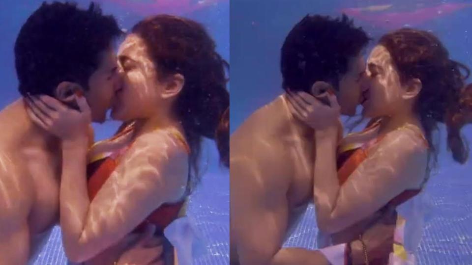 सारा अली खान को पानी के अंदर Kiss करते देख सैफ अली खान ने कह दी ये बड़ी बात