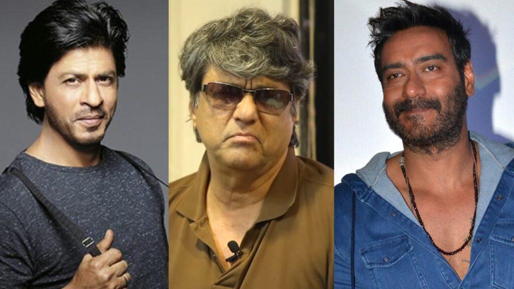 अजय देवगन और शाहरुख खान पर भड़के मुकेश खन्ना, दे डाली ये नसीहत