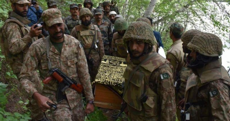 Pakistan soldier attacked in Pakistan, 7 soldiers killed, India held responsible
