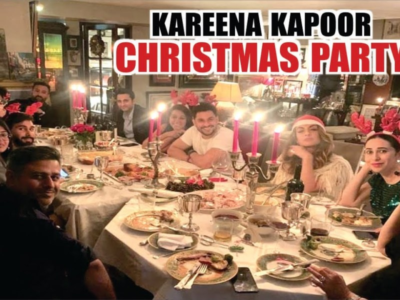 करीना कपूर और सैफ की क्रिसमस पार्टी में बेटी के साथ शामिल हुई करिश्मा कपूर, देखे तस्वीरें