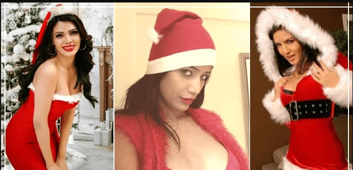 सनी लियोन से लेकर शर्लिन चोपड़ा तक क्रिसमस के मौके पर 'हॉट सेंटा' बनी ये एक्ट्रेस