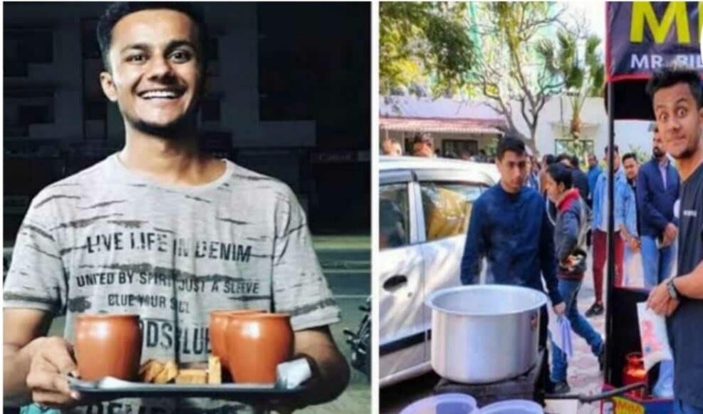 एमबीए में नहीं मिली सफलता तो Mba चाय वाला के नाम से शुरू किया स्टाल आज 3 करोड़ का है कारोबार