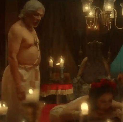 अन्नू कपूर के साथ 'पौरषपुर' में इंटिमेट सीन पर अश्मिता का खुलासा- पीठ पर डाला गया था असली मोम