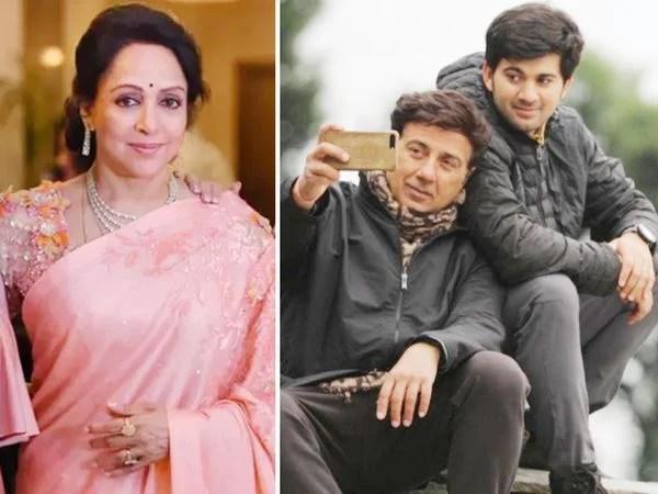 सनी देओल के बेटे करण देओल ने हेमा मालिनी के करियर पर कह दी बड़ी बात, कहा मैंने उनकी जितनी भी फ़िल्में देखी सब.....
