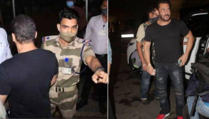 सलमान खान की इस गलती की वजह से Cisf अफसर ने एयरपोर्ट पर रोका, लोग कर रहे उस अफसर को सैल्यूट