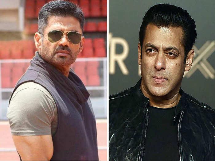सलमान खान ने हाथ जोड़कर सुनील शेट्टी से मांगी थी माफी, गर्लफ्रेंड सोमी अली बनी थी कारण