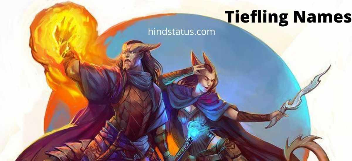 500+ Best Tiefling Names For Males And Females