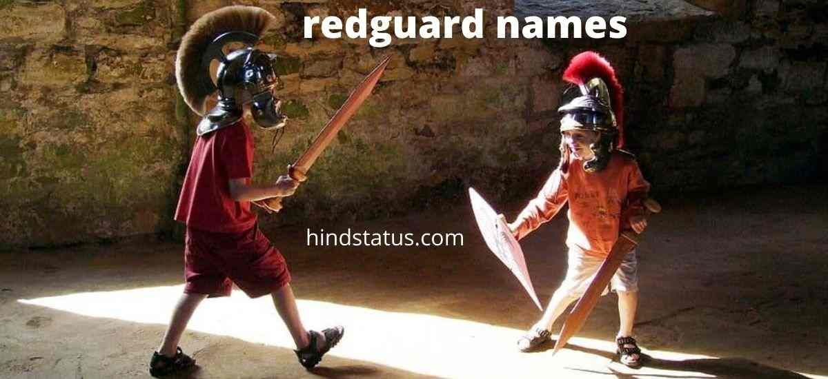 500+ Powerful Redguard Names In Trending - Hind Status