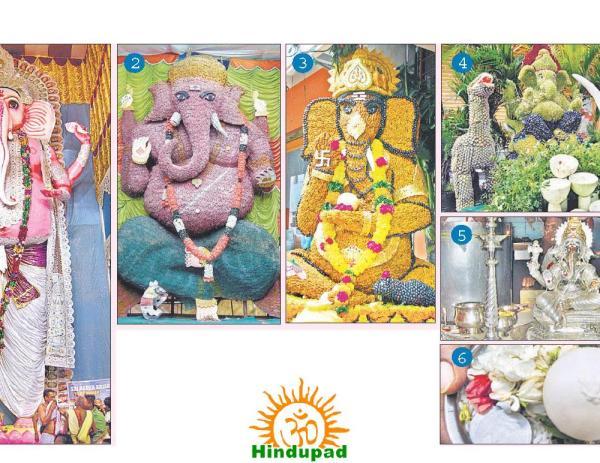 Tallest Ganesh idol vizag