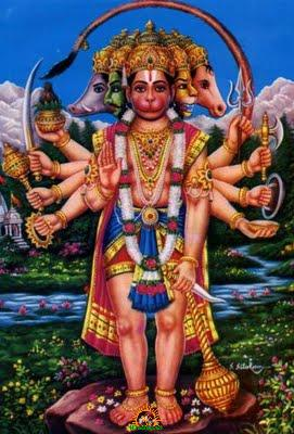 Panchamukha Hanuman