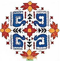 rangoli design 266