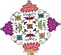 rangoli design 273