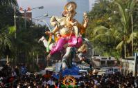 Ganesh Visarjan Mumbai 2012