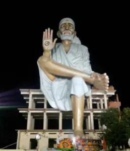 116 Feet Saibaba idol