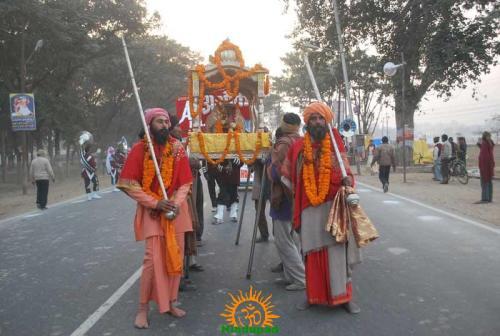 Kumbh Mela 2013 – Allahabad – Shri Panch Agni Akhadaa