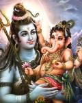 Vignesha Anugrahamurthi - Shiva with Ganesha