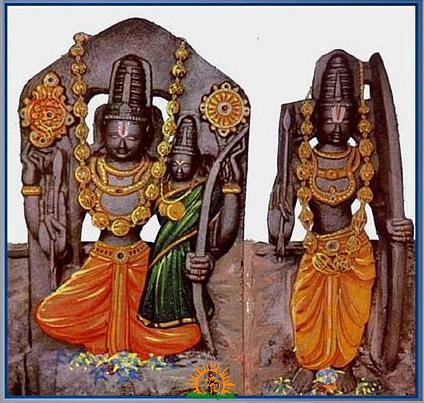 Bhadrachalam Sri Rama Sita Lakshmana
