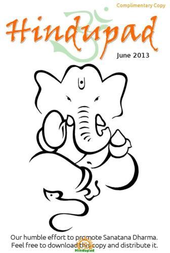 June 2013 Hindupad Magazine