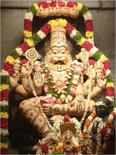 Narasimha Swamy at ISKCON Temple