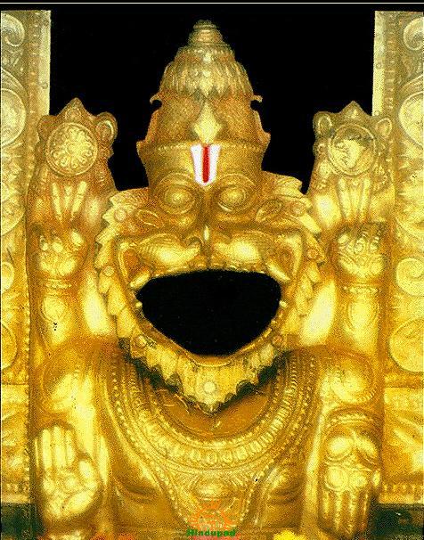 Panakala Narasimha Swamy at Mangalagiri Temple