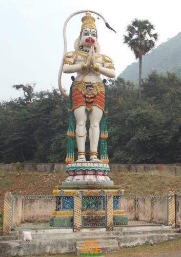 Hanuman statue Simhachalam Temple