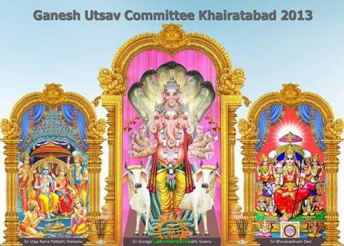 Khairatabad Ganesh 2013 image