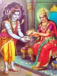 Lord shiva as Bhikshatanamurthi