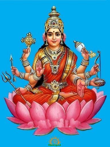 Veera Lakshmi (Dhairya Lakshmi)
