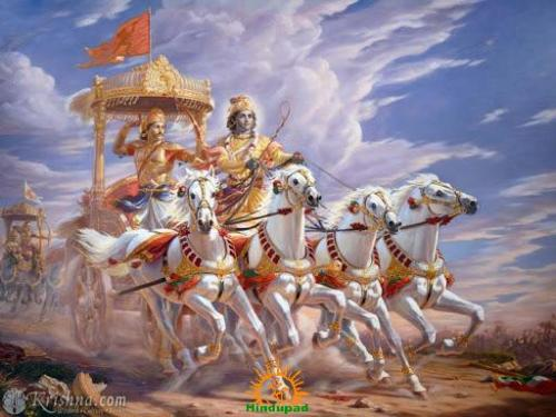 Yada Yadahi Dharmasya Glanirbhavathi Bharata