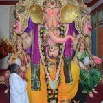 Akhil Bhuleshwar Sarvajanik Ganesh utsav mandal Bhuleshwar ca raja
