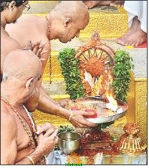Ananta chaturdashi at Tirumala Temple