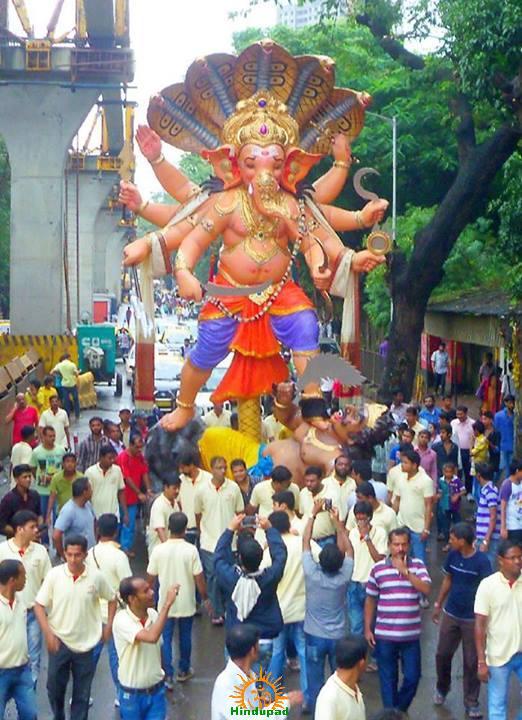 Chandanwadi Ganpathi 2013 1