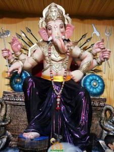 Ghatkopar cha Raja 2013 Ganesha