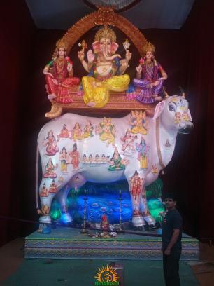 Hyderabad Chaitanyapuri Ganesha 2013