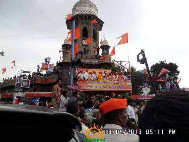 Hyderabad Vinayaka Nimajjanam Mojamjahi Market