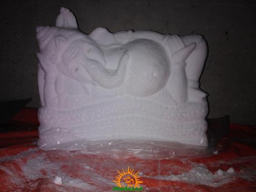 Karpura Ganapathi by Tarani Misro