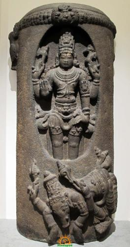 Lingodbhavamurti form of Lord Shiva