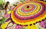 Onam festival in Kerala - Pookalam