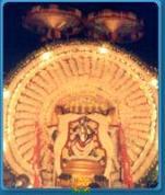 Seshavahanam in Kanipakam Varasiddhi Vinayaka Swamy Temple