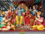 Sri Rama Pattabhishekam set at Khairatabad Ganapathi 2013
