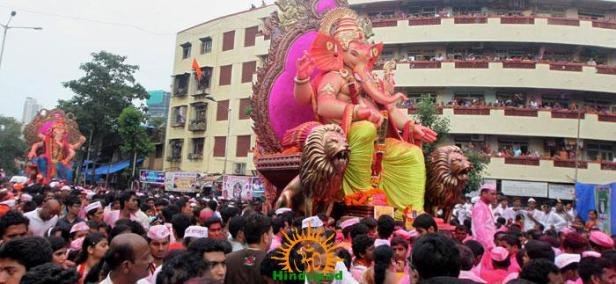 Tejukayacha Raja 2013 Visarjan procession