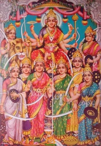 9 Goddesses