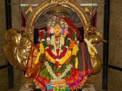 Gayatri Alankaram in Gayatri Peetam