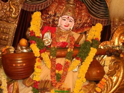Saraswati Devi Alankaram 4