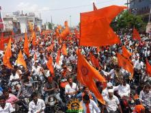 Hanuman Jayanti Bike Rally at Kothapet