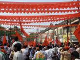 Hanuman Jayanti Shobha Yatra in Hyderabad pic 1