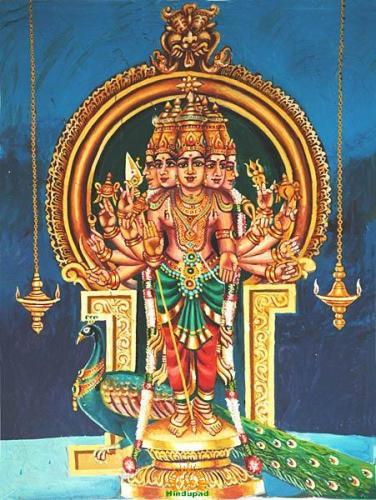 Shanumkha (Kartikeya)