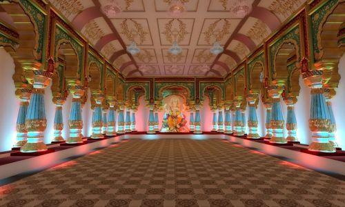 Andheri Cha Raja 2014 Theme Mysore Palace no-watermark